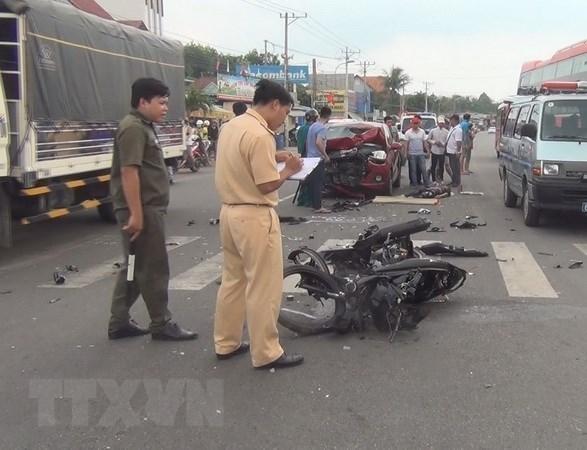 """2020年上半年越南全国交通事故实现""""三下降"""" hinh anh 1"""