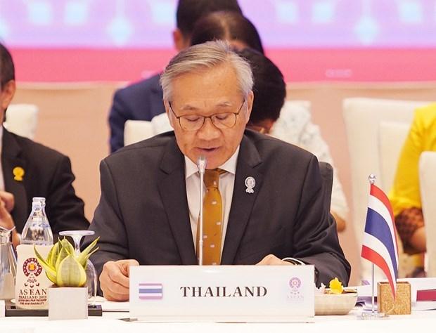 2020东盟轮值主席国年:泰国公布东盟外长非正式会议等系列会议的结果 hinh anh 1