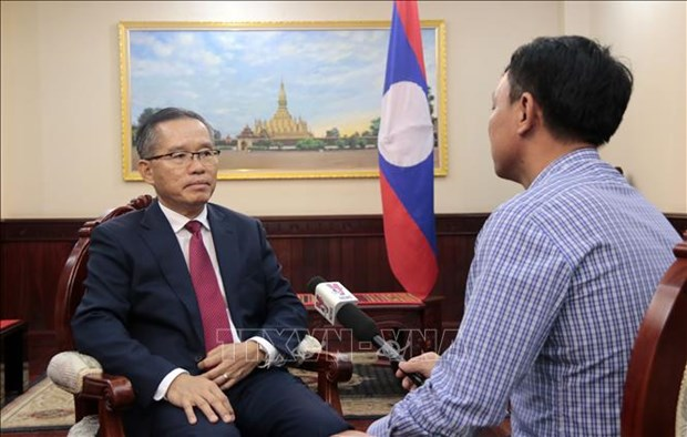 2020东盟轮值主席国年:老挝高度评价越南在引导东盟中取得的成功 hinh anh 1