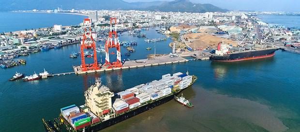 归仁港提出2020年货物吞吐量同比增长7.5%的目标 hinh anh 1