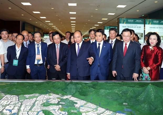 政府总理阮春福出席2020年河内投资合作与发展会议 hinh anh 2
