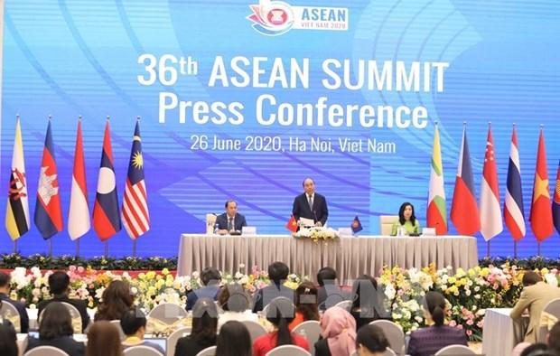 2020东盟轮值主席年:美国对第36届东盟峰会所发表的声明表示欢迎 hinh anh 2