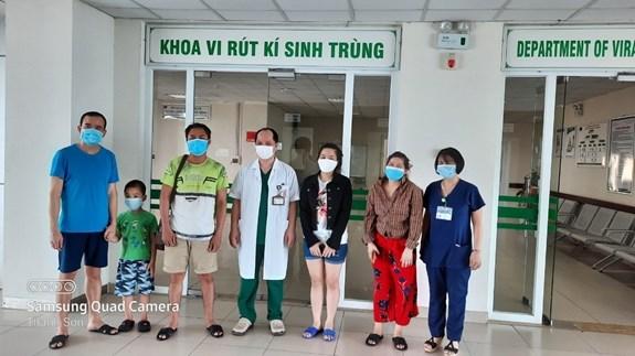 越南新增5例康复病例 累计治愈335例 hinh anh 1