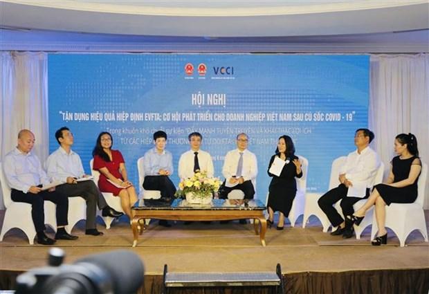 EVFTA—越南企业在新冠肺炎疫情后迎来的发展机会 hinh anh 1