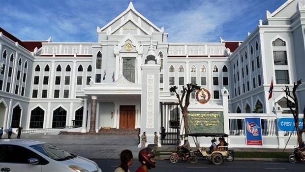 柬埔寨人民党新总部大楼正式落成 hinh anh 1