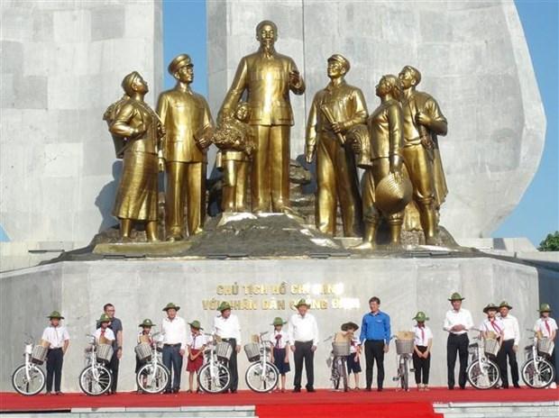 2020年夏季青年自愿者行动出征仪式在广平省举行 hinh anh 3