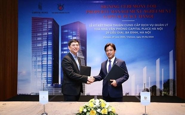 Capital Place与The Sankei Building签订合作协议 hinh anh 1