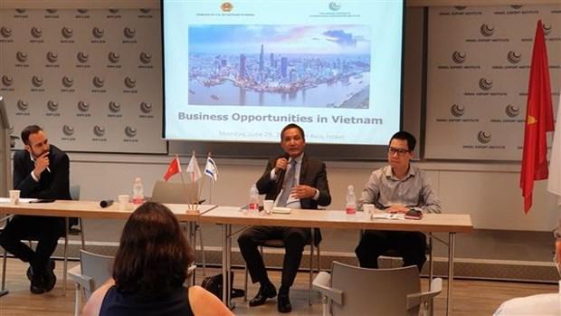 进一步促进越南与以色列之间的经营投资合作 hinh anh 2