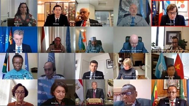 联合国安理会讨论 埃塞俄比亚大复兴大坝问题 hinh anh 1