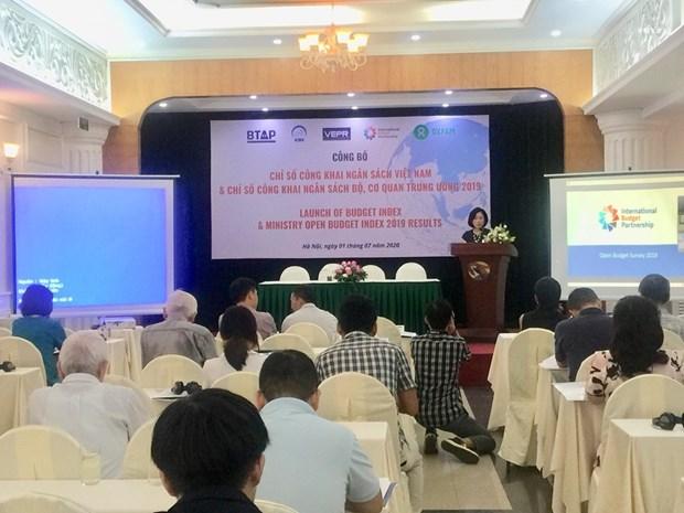 越南在预算公开指数方面已取得许多进步 hinh anh 1