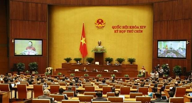 越南国会颁布关于批准EVFTA、EVIPA和国际劳工组织第105号公约的系列协议 hinh anh 1