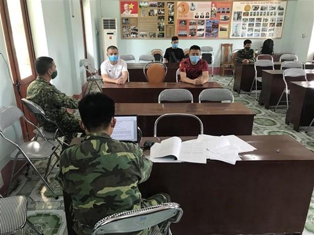 逮捕组织3名中国人非法偷渡到越南境内的2名越南籍嫌疑人 hinh anh 1