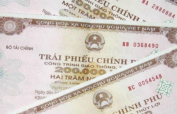 2020年6月越南国库通过政府债券发行募集资金32.59万亿越盾 hinh anh 1