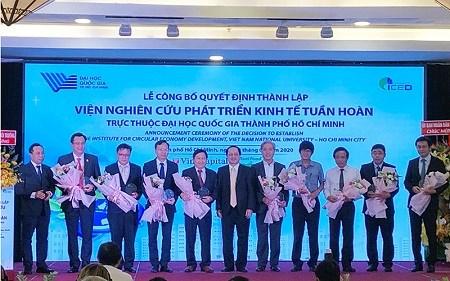 越南首家循环经济研究院成立 hinh anh 1