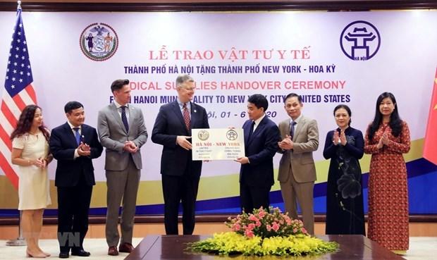 越美建交25周年:河内与美国合作的印迹 hinh anh 1