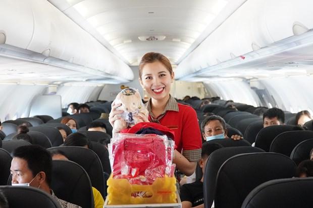 越捷航空推出200多万张五折机票让游客轻松出行尽情享受越南美景 hinh anh 3