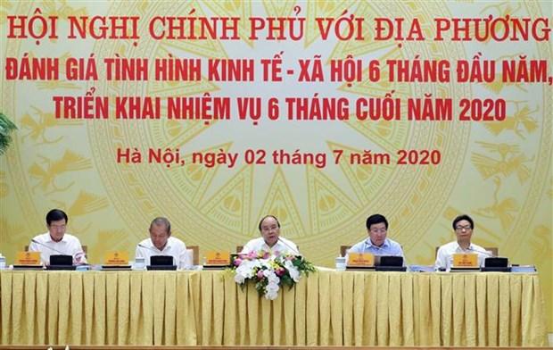 阮春福总理: 绝不让新冠肺炎疫情复发 hinh anh 2