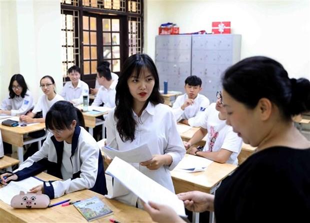 88万名考生报名参加2020年高中毕业考试 hinh anh 1