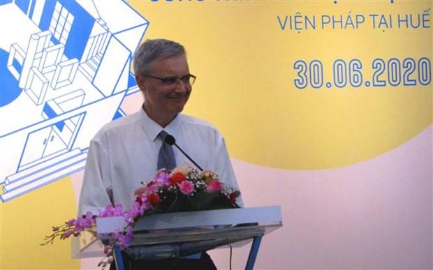 设在顺化市的越南法国院升级改造项目落成 hinh anh 1