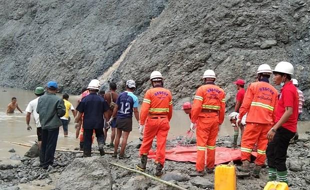 缅甸发生山体滑坡 至少50人死亡 hinh anh 2