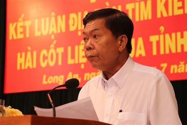 越南隆安省归集3.55万名烈士的遗骸 hinh anh 2