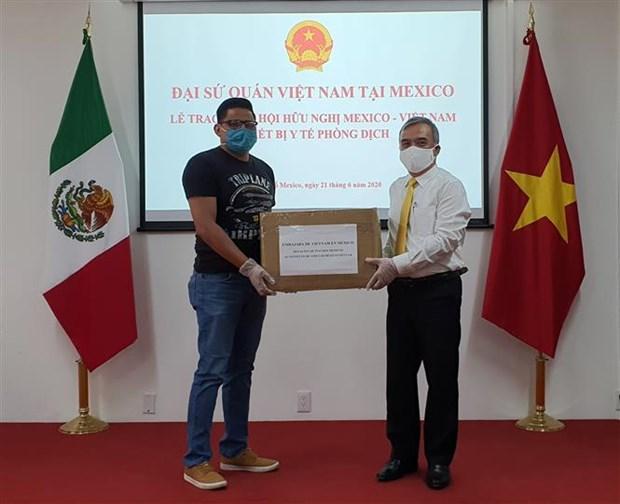 墨西哥格雷罗州州长感谢越南对该州提供的新冠肺炎疫情防疫物资 hinh anh 1