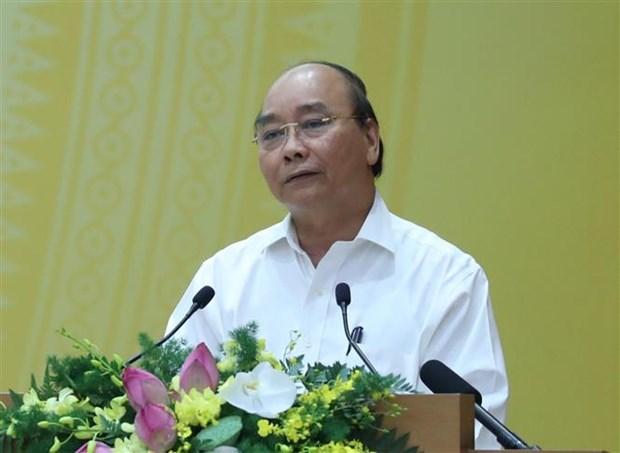 阮春福总理: 绝不让新冠肺炎疫情复发 hinh anh 1