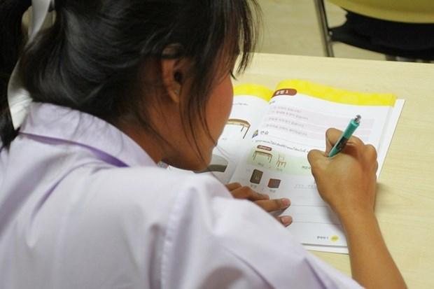 韩国将在越南开展开设韩语教师培训课程 hinh anh 1