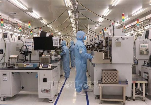 越南工业生产从5月起逐渐恢复 hinh anh 1