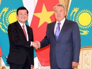 越南与哈萨克斯坦关系不断走向务实 hinh anh 1