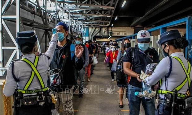 菲律宾新增新冠肺炎病例创单日新高 印尼新增1301例 hinh anh 1