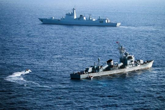 美国国防部反对中国在东海演习 hinh anh 1