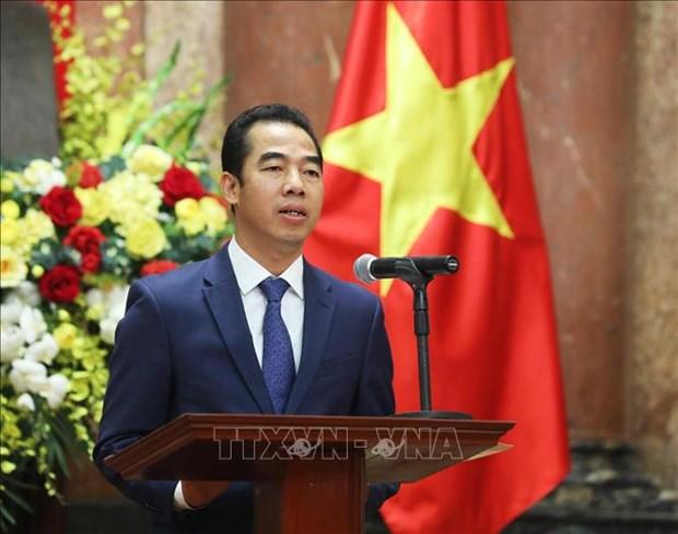 越南与联合国安理会:联合国安理会就疫情和安全问题举行公开辩论 hinh anh 1
