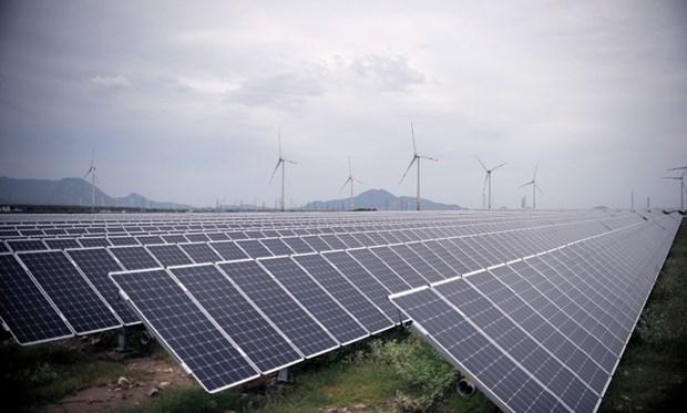 夏普设在越南宁顺省的太阳能发电厂即将投入运营 hinh anh 1