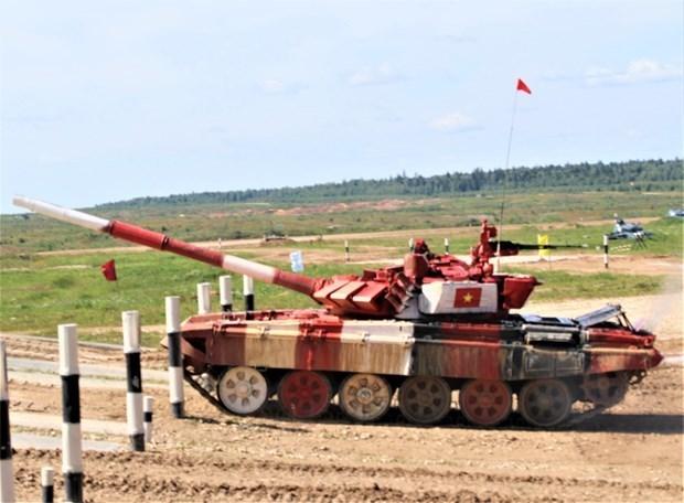 越南积极为2020年国际军事比赛做准备 hinh anh 1