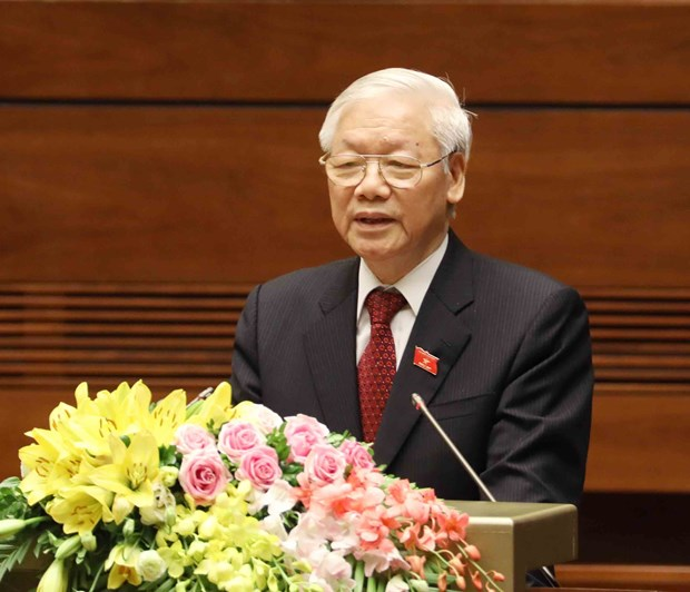 越南领导人致电祝贺美国第244个国庆日 hinh anh 1