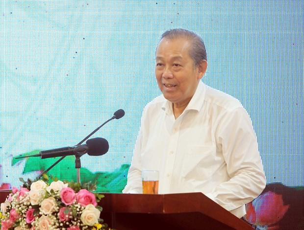 张和平副总理:反走私和打击贸易欺诈、假冒商品是无禁区的工作 hinh anh 2