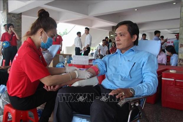 2020年红色征程共采集供应血液近1万单位 hinh anh 1