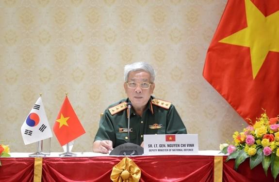 越南重视加强与韩国、印度的防务合作 hinh anh 1