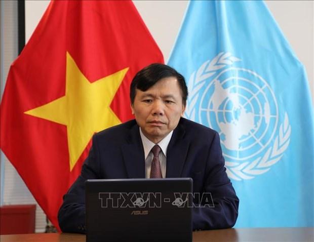 越南高度评价联合国中亚区域预防性外交中心的活动 hinh anh 1