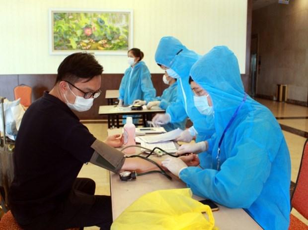 越南连续82天无新增本地病例 仍有28人在各医院接受治疗 hinh anh 1