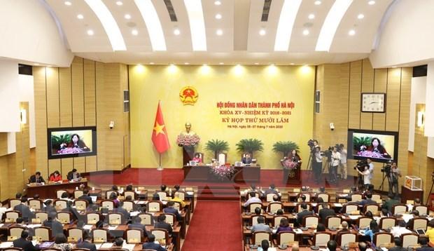 河内市人民议会代表为恢复首都增长势头和经济和社会的发展建言献策 hinh anh 1