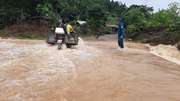 越南北部各省主动应对和克服暴雨洪涝灾害所造成严重后果 hinh anh 1