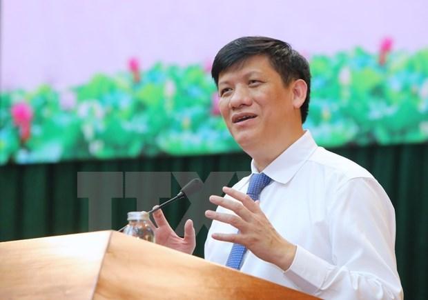 阮青龙担任卫生部党组书记、代理部长职务 hinh anh 1