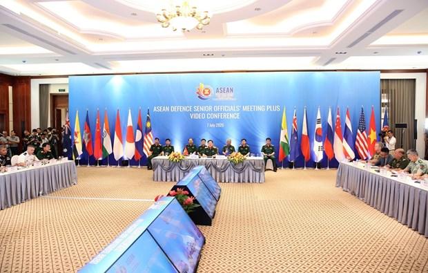越南国防部今日召开东盟国防高级官员扩大会议 hinh anh 1