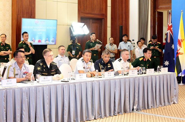 越南国防部今日召开东盟国防高级官员扩大会议 hinh anh 4