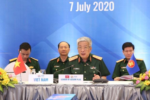 越南国防部今日召开东盟国防高级官员扩大会议 hinh anh 3