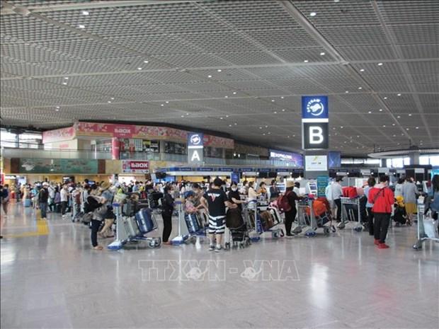 越航提醒旅客提前2个小时到达内排和新山一国际机场 hinh anh 1