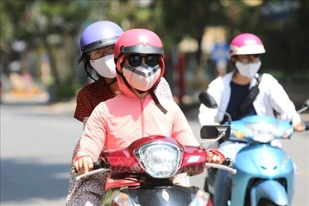 7月9日起越南北部炎热天气增加 最高气温将升至39℃以上 hinh anh 1