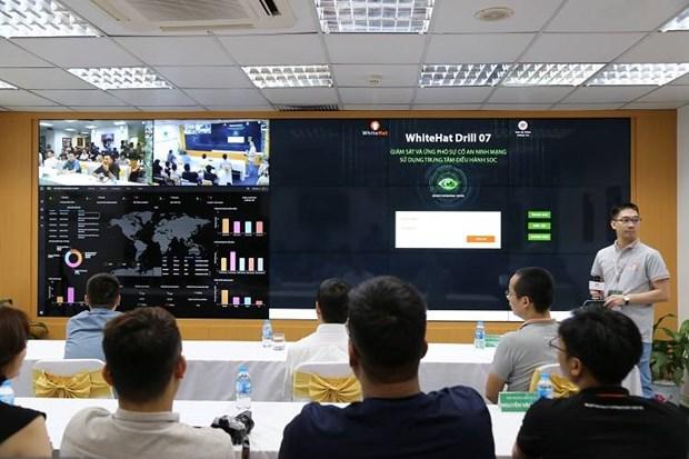 45个支队参加针对性网络攻防演习 hinh anh 1